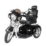 "Drive Medical Maverick Executive Three Wheel Power Scooter, 20"" Seat, Model - MAVERICK20CS"