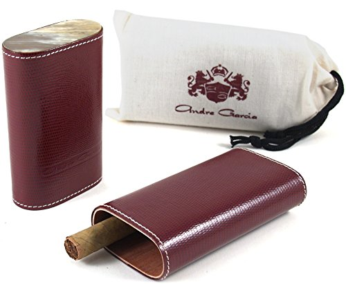 andre-garcia-limited-edition-maroon-lizard-leather-cedar-lined-telescopic-3-finger-cigar-case-with-f