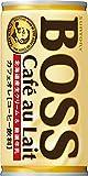 サントリー コーヒー ボス カフェオレ 185g×30本 ランキングお取り寄せ