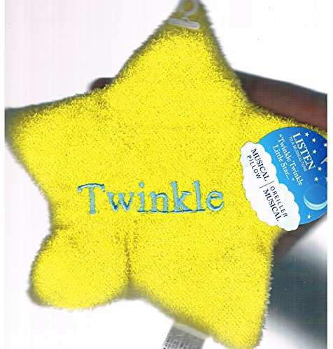 Plush Baby Musical Pillow (Yellow)