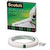 3M スコッチ メンディングテープ 12mm×50m 芯76mm 紙箱入り 810-3-12