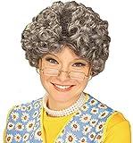 Yo Momma Gray Old Lady Wig Mamma Nanna Madea Granny Grandmother