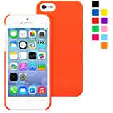 Snugg iPhone 5 / 5S Case - Ultra Thin Case with Lifetime Guarantee (Orange) for Apple iPhone 5 / 5S