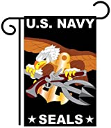U.S. Navy Seal Garden Flag Indoor/outdoor 13.5