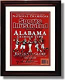 Alabama Crimson Tide - Nick Saban 2009 Commemorative Framed Autograph Print at Amazon.com