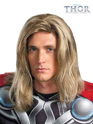 Rubies Costume Co 43725DI Thor Deluxe Avengers Adult Wig