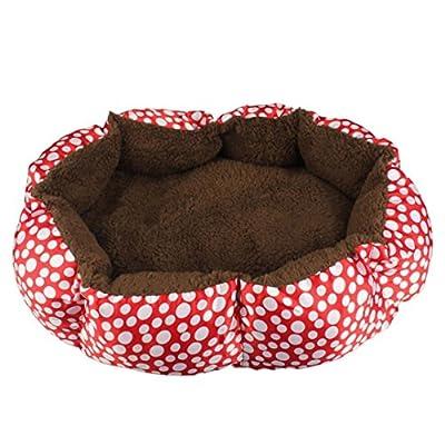 Clode® Comfortable Pet Bed Fleece Pet Dog Puppy Cat Warm Bed House Plush Cozy Nest Mat Pad