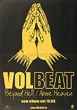 Poster - Volbeat - Above Heaven 2010 - Original Konzert Plakat Poster von Volbeat