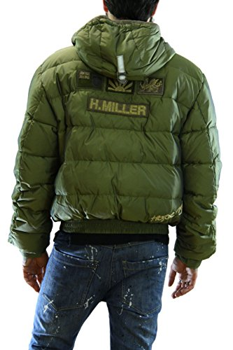 Kejo Gaiking Patch Goose Down Jacket Green Piumino con toppe XL