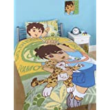 Go, Diego, Go! Duvet Cover and Pillowcase Beddingby Character World