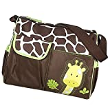 #2: Generic Multifunctional Baby Diaper Nappy Changing Bag Mummy Handbag Giraffe ...-12011064MG