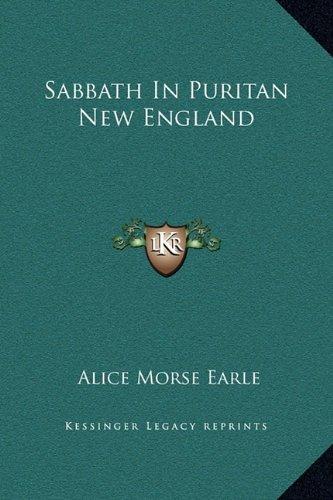 Sabbath in Puritan New England