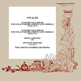 Vivaldi Concerto In A / Concerto In D