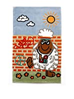 Tapis a Porter Alfombra Kids Concept Cielo/Rojo/Verde 100 x 160 cm