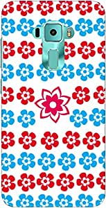 The Racoon Lean Flora Love hard plastic printed back case/cover for Asus Zenfone 3 Ze552Kl