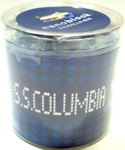 Tokyo Disney Resort S S Columbia nano block TDR SSCOLUMBIA nanoblock japan import