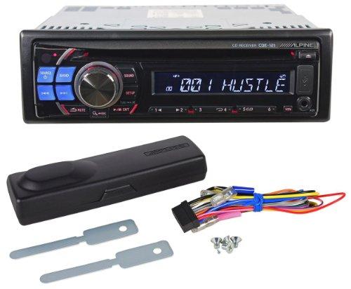 Brand New Alpine CDE-121 Single Din In-Dash Car Audio