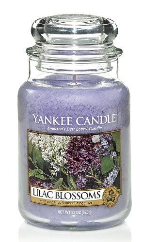 Yankee Candle Lilac Blossoms Large Jar 22oz Candle