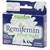Enzymatic Therapy Remifemin Good Night - 21 Tablets, 2 Pack