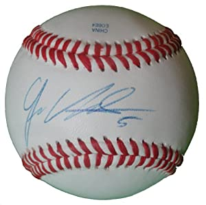 Juan Uribe Autographed Signed ROLB Baseball. Los Angeles Dodgers, San Francisco...