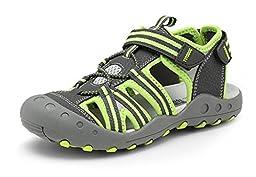 Ausom Boy\'s Girl\'s Summer Closed-Toe Sport Sandals Shoes (Toddler/Little Kid/Big Kid)