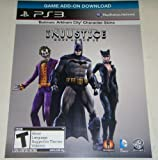 Injustice : Gods Among Us -Arkham City Catwoman/Joker/Batman Skin Pack DLC Code Card [PS3] Walmart exclusive