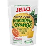 JELL-O Simply Good Pineapple Orange Gelatin Dessert Mix, 3.0 oz