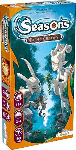 "Asmodee Seas03 - Gioco di carte ""Seasons Path Of Destiny"" (versione francese)"