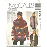 Misses Unlined Jacket, Hat, Scarf and Mittens Mccall's Sewing Pattern 2956 (Size: Y Sml: 8-10, Med: 12-14, Lrg: 16-18)