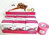NASARA KINESIOLOGY TAPE 6 ROLL BOX 5m X 5cm (Pink)