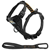 Kurgo Tru-Fit Smart Dog Harness, Black, Large