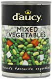 D'aucy Mixed Vegetables 400 g (Pack of 6)