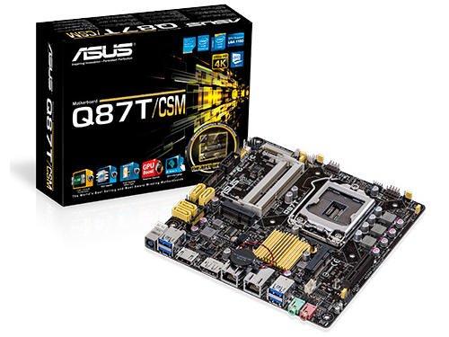 ASUS Mini ITX DDR3 1600 LGA 1150 Motherboard Q87T/CSM (Asus Portable Aio compare prices)