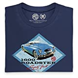 Official MG - MGA 1600 Roadster Organic T Shirt, Mens