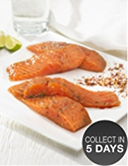 4 Scottish Lochmuir™ Salmon Fillets with Soy, Ginger & Lime