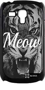 Coque pour Samsung Galaxy S3 mini - Tigre Meow - ref 724