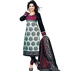 OMSAI FASHION printed unstiched dress with duppta(sonali cable)