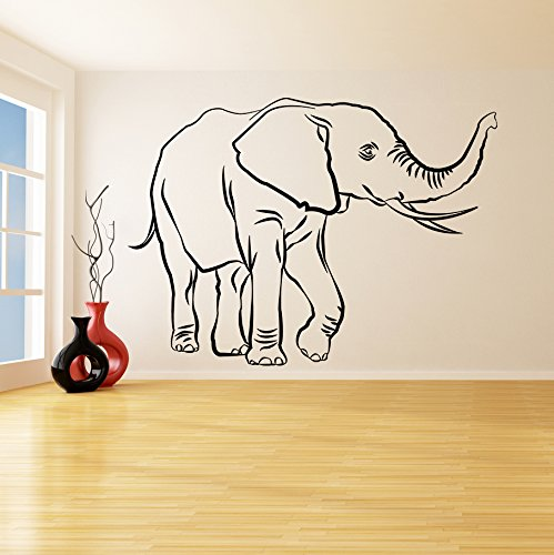 220x-160cm-en-vinyle-autocollant-mural-Lucky-lphant-tronc-jusqu-Wise-Richesse-Elphant-africain-Animal-Art-Sticker-HomeFeng-Shu-sans-papier-en-cadeau