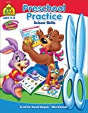 img - for Preschool Practice Scissor Skills (Ages 3-5) book / textbook / text book