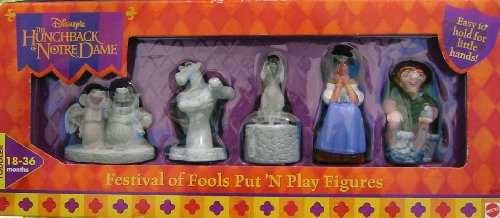 Buy Low Price Mattel Hunchback of Notre Dame Festival of Fools Put 'N Play Figures (B002J2KUSO)