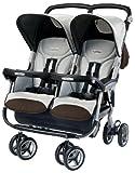Peg-Perego 2011 Aria Twin Stroller, Java