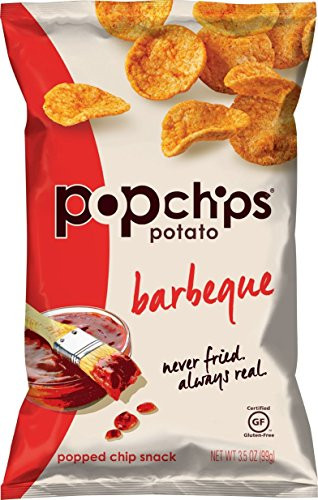 Popchps Potato Chips, Barbeque, 3.5 Ounce (Pop Chips Tomato compare prices)