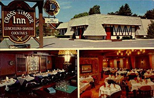 Cross Timber Inn, 4100 Wm. Penn Highway Easton, Pennsylvania Original Vintage Postcard
