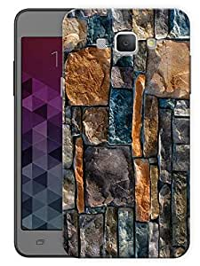 "Humor Gang Brick Wall Pattern Printed Designer Mobile Back Cover For ""Samsing Galaxy A8"" (3D, Matte, Premium Quality Snap On Case)"