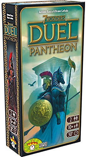 Asterion 8037 - 7 Wonders Duel Pantheon, Edizione Italiana