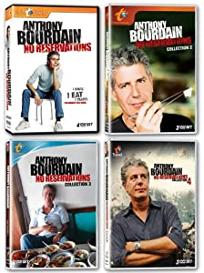 Anthony Bourdain: No Reservations - Collections One-Four