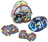 BeyBlade - Set de casco + protecciones (Saica Toys 8765)