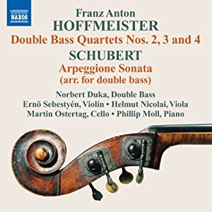 Double Bass Quartets Nos. 2-4