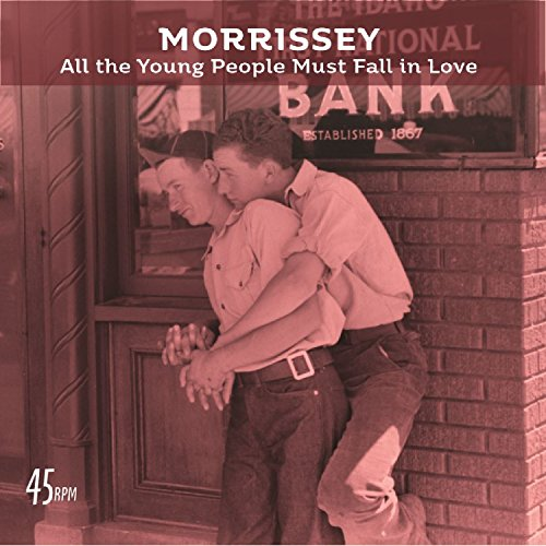 CD : Morrissey - All The Young People Must Fall In Love (bob Clearmountain Mix) / Rose Garden (live At The Grand Ole Opry, Nashville) (7 Inch Single)