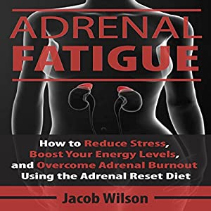 Adrenal Fatigue: How to Reduce Stress, Boost Your Energy Levels, and Overcome Adrenal Burnout Using the Adrenal Reset Diet Hörbuch von Jacob Wilson Gesprochen von: Mike Norgaard